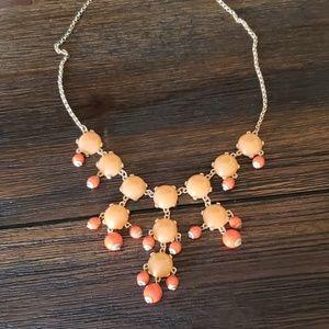 Jewelry - Orange statement necklace